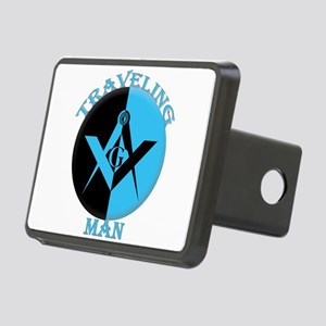 The Blue Lodge Traveling Man Rectangular Hitch Cov