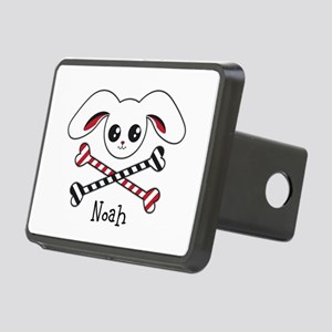 Pirate Bunny Rectangular Hitch Cover