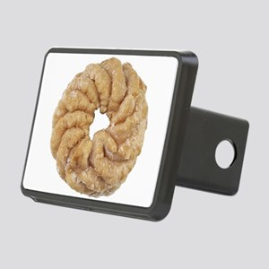 Cruller Donut Photo Rectangular Hitch Cover