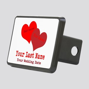 Wedding Hearts Hitch Cover