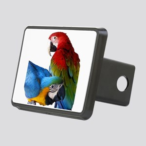 2 Macaws Rectangular Hitch Cover
