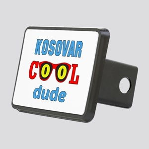 Kosovar Cool Dude Rectangular Hitch Cover