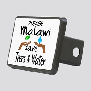 Please Malawi Save Trees & Rectangular Hitch Cover