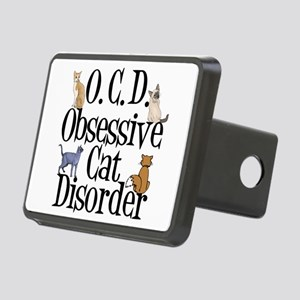 Obsessive Cat Disorder Rectangular Hitch Cover