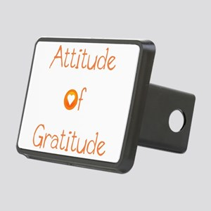 Attitude of Gratitude Rectangular Hitch Cover