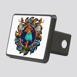 Heavenly Hulas Rectangular Hitch Cover