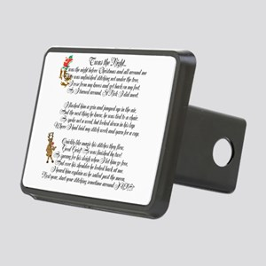 Twas the Night Rectangular Hitch Cover