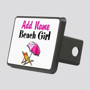 BEACH GIRL Rectangular Hitch Cover