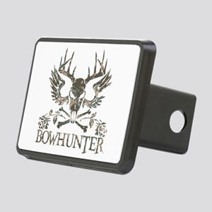 GIRL BOWHUNTER Rectangular Hitch Cover