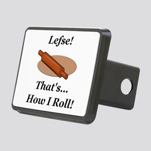 Lefse How I Roll Rectangular Hitch Cover
