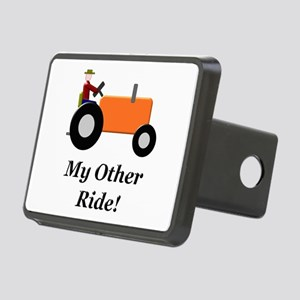My Other Ride Orange Rectangular Hitch Cover