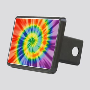 Printed Tie Dye Pattern Hitch Cover