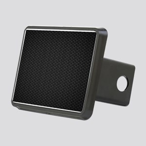 BLACK HONEYCOMB Rectangular Hitch Cover