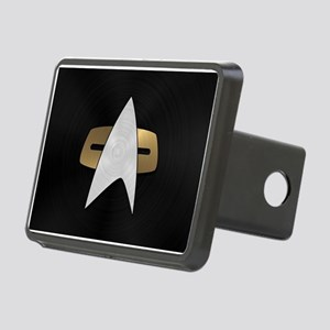 STARTREK VOY METAL 5 Rectangular Hitch Cover