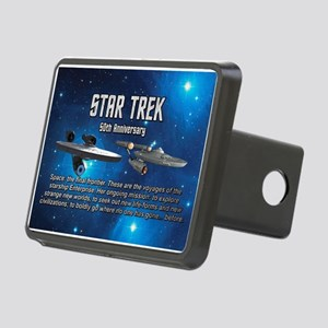 50TH FINAL FRONTIER Rectangular Hitch Cover