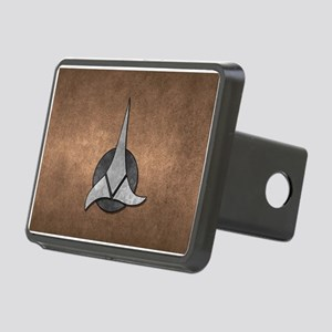 STARTREK KLINGON METAL 1 Rectangular Hitch Cover