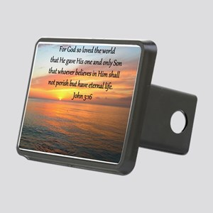 JOHN 3:16 Rectangular Hitch Cover