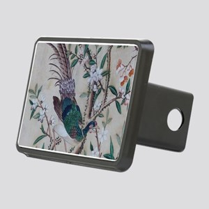 Asian pattern on wallpaper Rectangular Hitch Cover