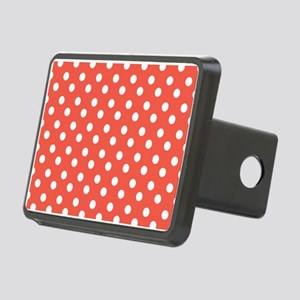 polka dots pattern Rectangular Hitch Cover