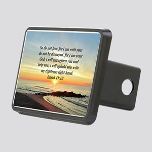 ISAIAH 41:10 Rectangular Hitch Cover