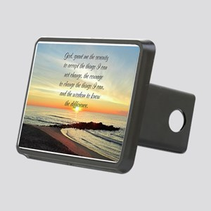 SERENITY PRAYER Rectangular Hitch Cover