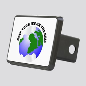 save the earth Rectangular Hitch Cover