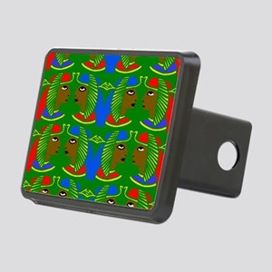 African patterns Rectangular Hitch Cover