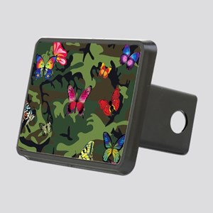 butterfly camouflage Rectangular Hitch Cover