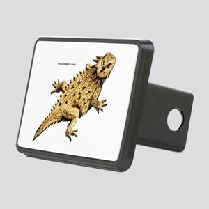 Regal Horned Lizard Rectangular Hitch Cover