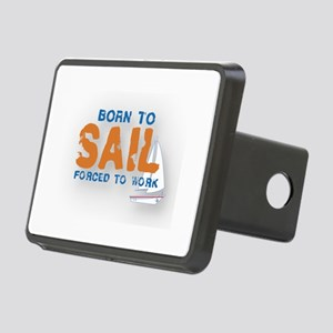 Born to Sail Rectangular Hitch Cover