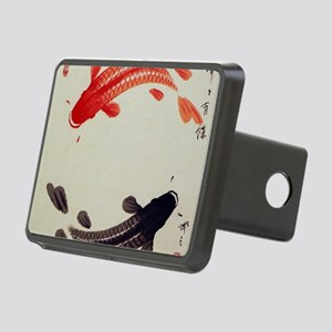 Koi Fish Cute Rectangular Hitch Cover
