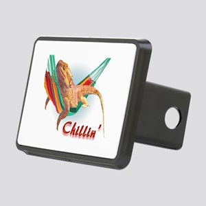 Bearded Dragon Chillin Rectangular Hitch Cover