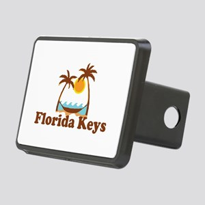 Florida Keys - Palm Trees Design. Rectangular Hitc