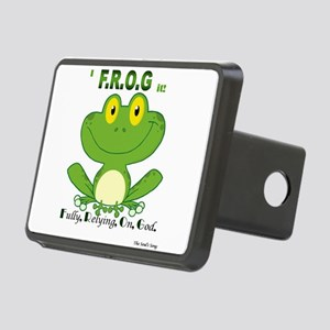 F.R.O.G. Fully, Relying,On,God Hitch Cover