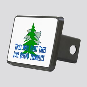 Planting A Tree For Earth Rectangular Hitch Cover