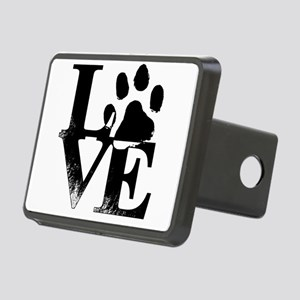 Paws of Love Rectangular Hitch Cover