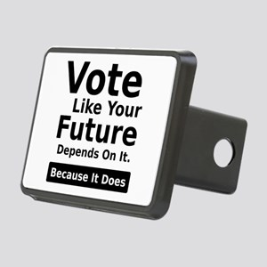 Vote Your Future Rectangular Hitch Cover