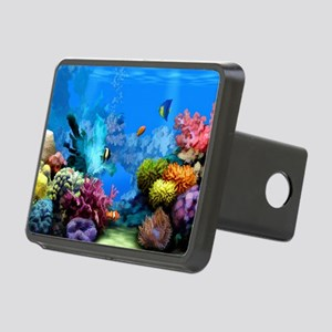 Tropical Fish Aquarium wit Rectangular Hitch Cover
