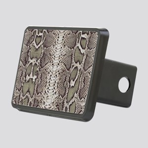 Snakeskin Animal Print Rectangular Hitch Cover