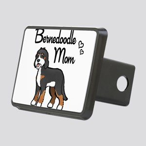 Bernedoodle Mom Rectangular Hitch Cover