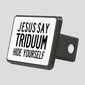 Jesus Say Triduum Church Van Rectangular Hitch Cov
