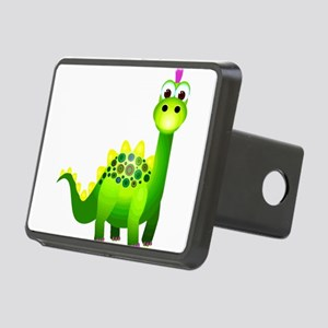 Punk Rock Dinosaur with Pu Rectangular Hitch Cover