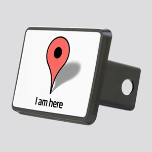 Google Map marker Rectangular Hitch Cover
