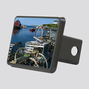 Bar Harbor Maine- sq.  Rectangular Hitch Cover