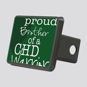 proud brother copy Rectangular Hitch Cover