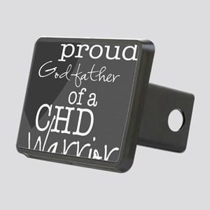 proud godfather copy Rectangular Hitch Cover
