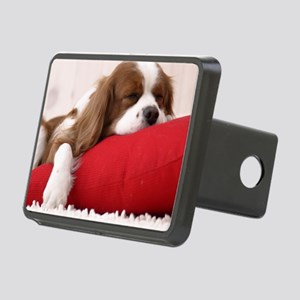 Spaniel pillow Rectangular Hitch Cover