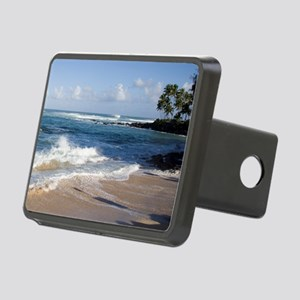 Hawaii North Shore Beach Rectangular Hitch Cover