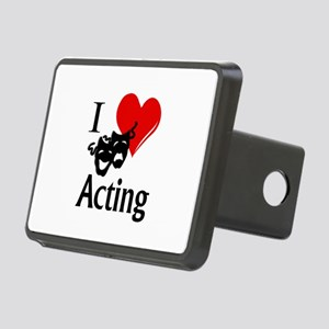 I Heart Acting Rectangular Hitch Cover