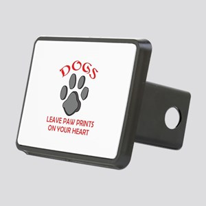 DOG PAW PRINT Hitch Cover